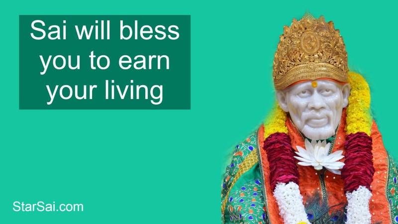 Shirdi Saiababa earn living