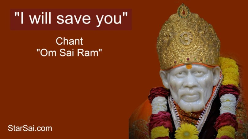 Shirdi Saibaba Saved Dad