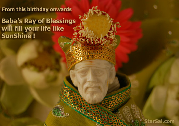 May the divine rays of shirdi saibaba fall on you and your family