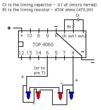Led Strobe Light Circuit Diagram