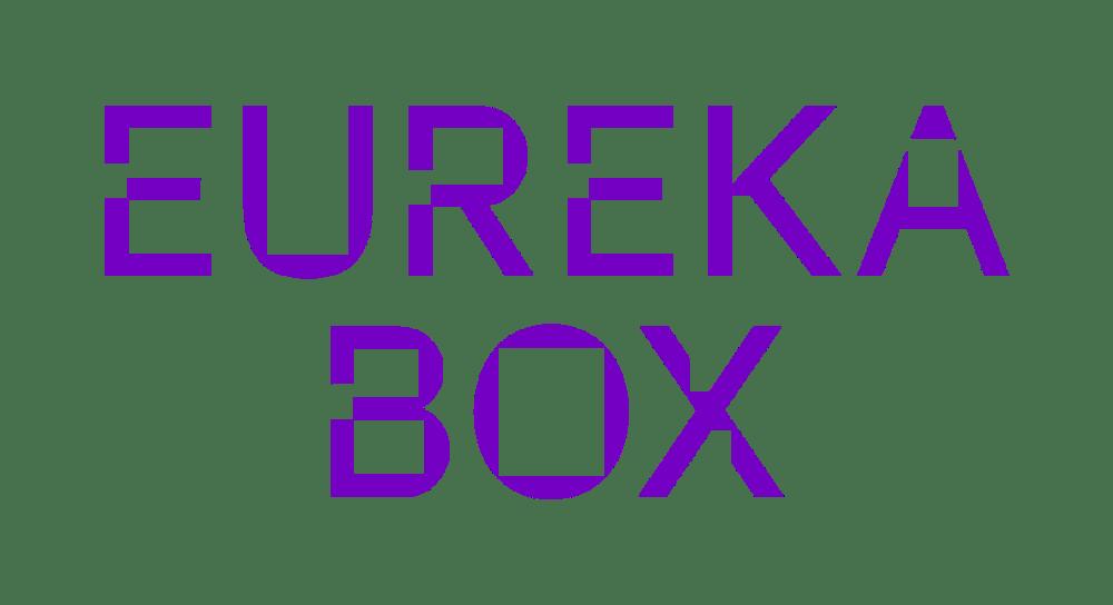 Eureka Box logo. Company name in purple text. Starsight Collective member.