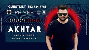 Bollywood Saturday at PRIVEE, ShangriLa & Dj Akhtar