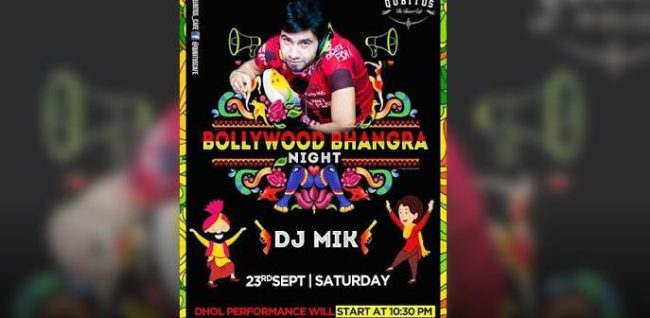 Bollywood Bhangra Night With DJ Mik