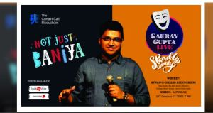 Not Just Baniya by Gaurav Gupta Event Details