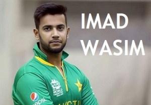 Imad Wasim Height