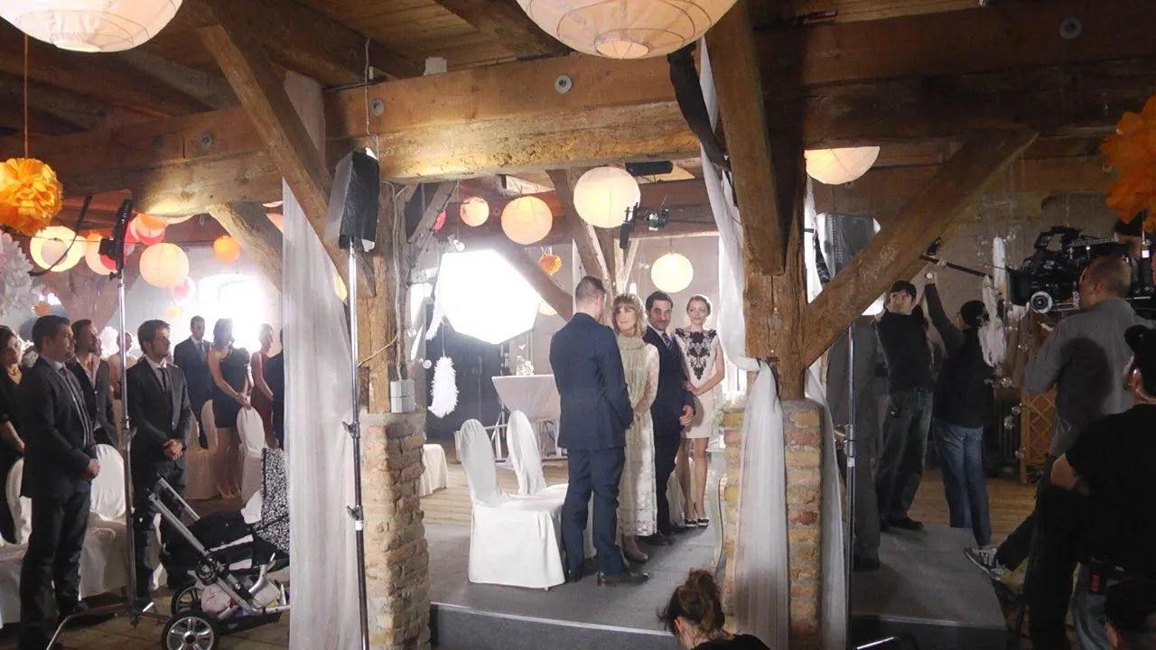 GZSZ Vorschau  Hochzeit  Making Of VIII  Stars on TV