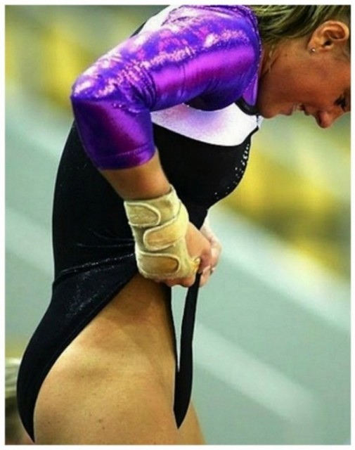 gymnastic fail