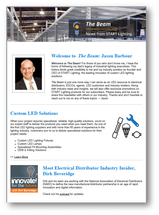LED lighting newsletter