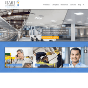 start-lighting-website