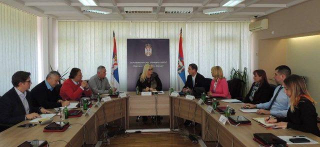 НОВА ФУНКЦИЈА... састанак са начелницима округа из целе Србије