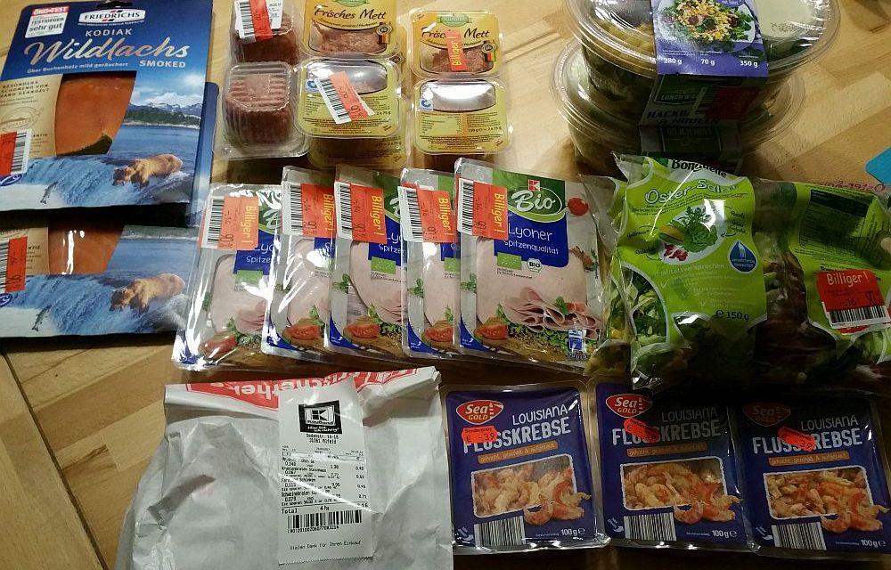Sparen beim Lebensmitteleinkauf leicht gemacht