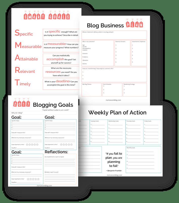 SMART Blog Goals 2017