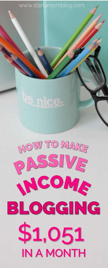 How to make passive income blogging even with a small blog