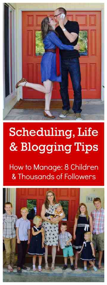 Scheduling, Life and Blogging Tips - How to Manage children and blogging www.startamomblog.com
