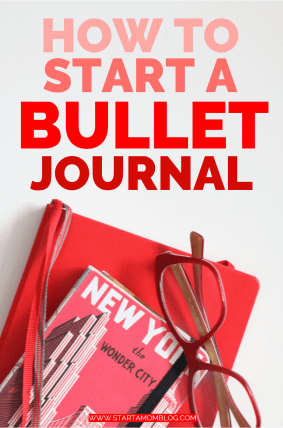 How to start a bullet journal and be uber produtive