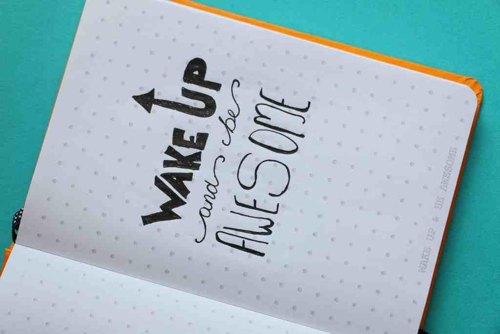 Bullet Journal for Productivity