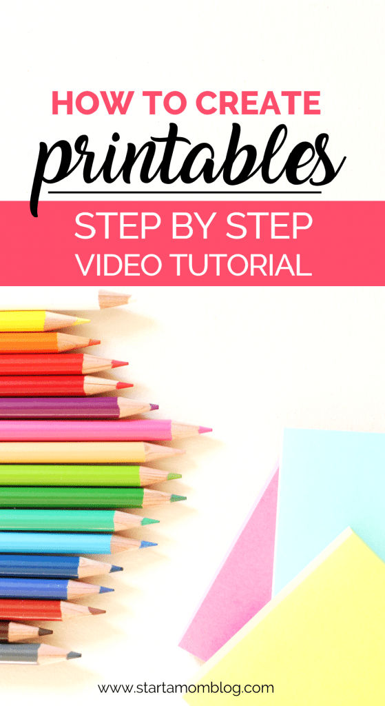 How to create printables to sell step by step tutorial using canva and powerpoint
