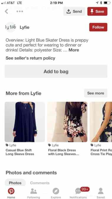 shop the look pin example