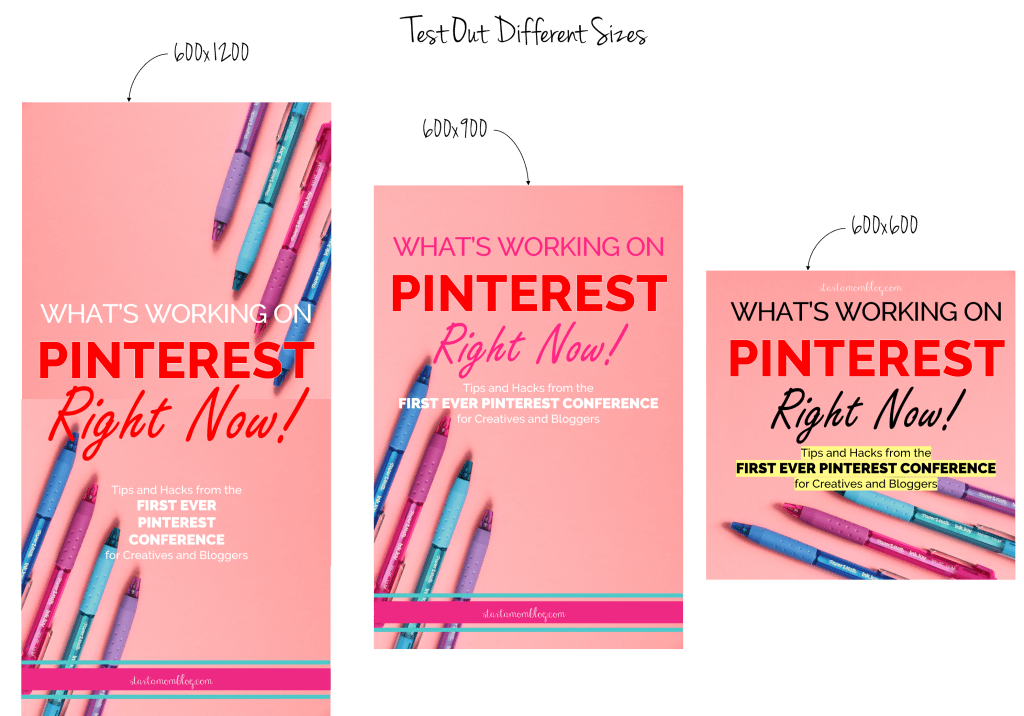different pin sizes for pinterest traffic