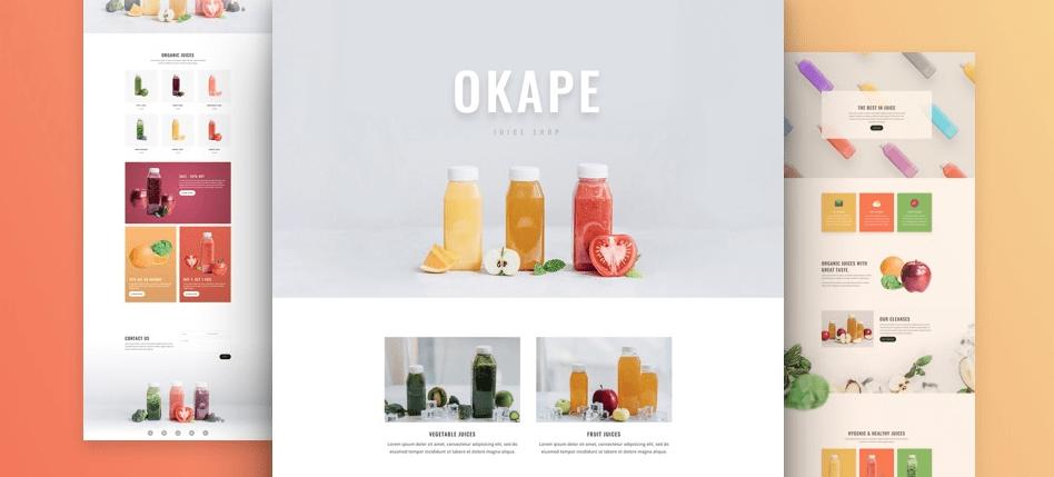 divi layout juice