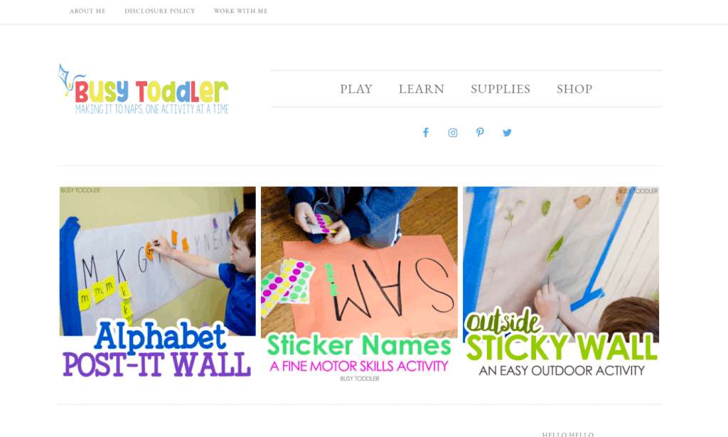 busy toddler blog idea that makes money kids activity blog