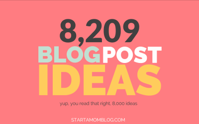 8,209 Popular Blog Post Ideas