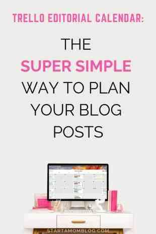 Trello Editorial Calendar simple way to plan your blog posts P1