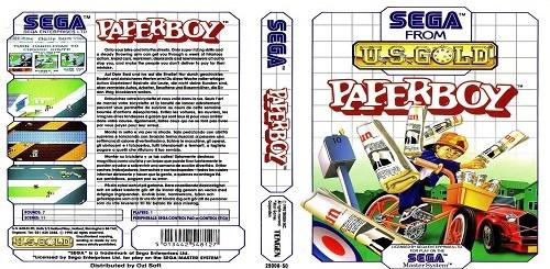 Test de Paper Boy sur Sega Master System