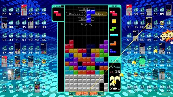 Test de Tetris 99