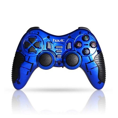 HAVIT G89W 2.4GHZ WIRELESS VIBRATION GAME PAD