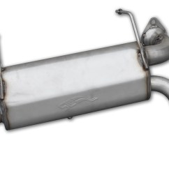 performance slip on muffler for 2015 17 polaris rzr xp 1000 [ 3000 x 2126 Pixel ]