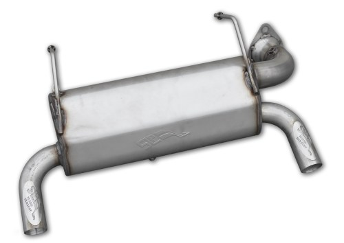 small resolution of performance slip on muffler for 2015 17 polaris rzr xp 1000