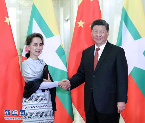 緬甸在中國進軍印度太平洋時正在做什麼?