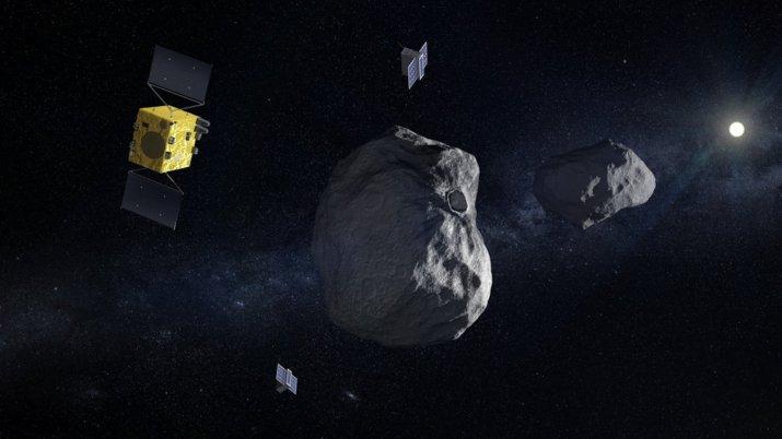 Τι θα κάνουν οι Ohb Italia, Avio και Thales Alenia Space για την αποστολή Hera
