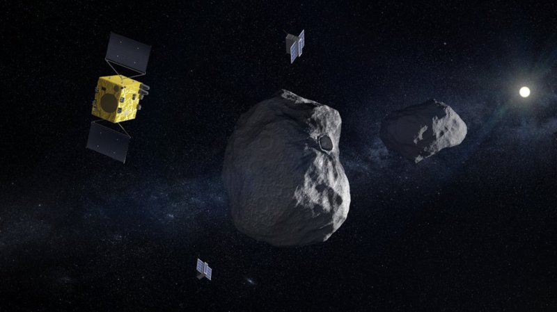What Ohb Italia, Avio and Thales Alenia Space will do for the Hera mission