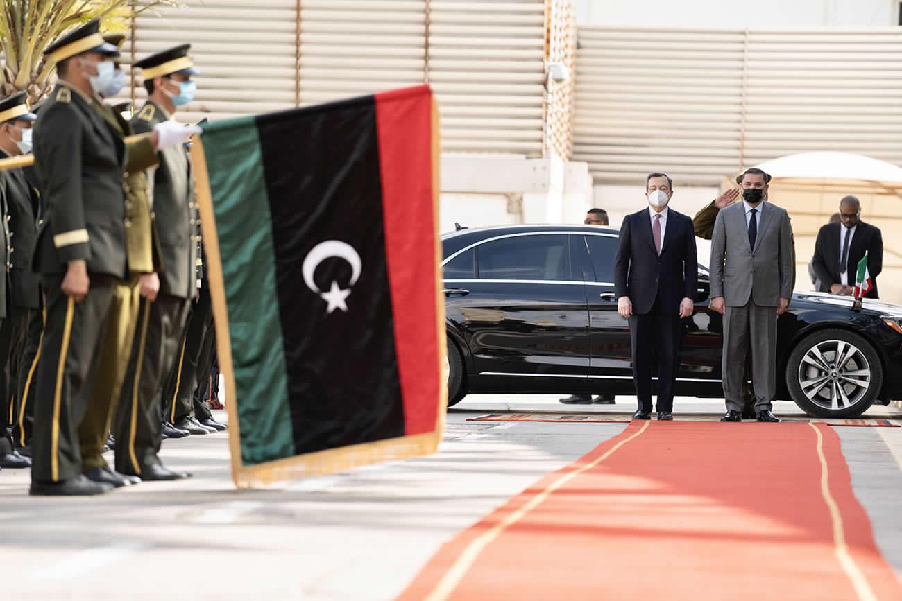レオナルドだけでなく、イタリアが防衛と輸送に関してリビアで何をするか