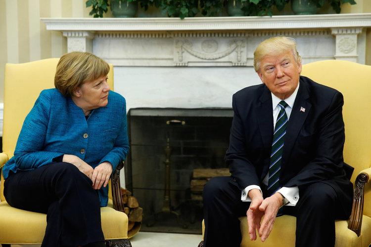 Кто тормозит в Европе и США по выводу американских военных из Германии