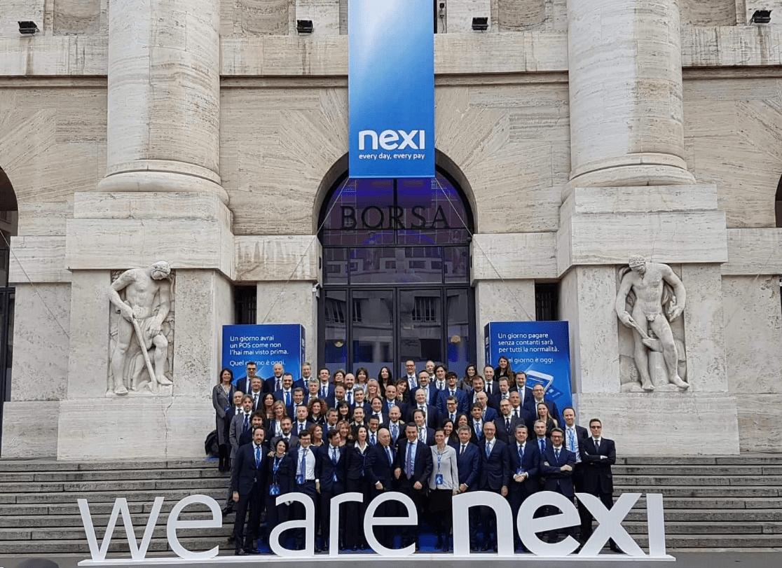 這是水星發布後Nexi在股市上的情況