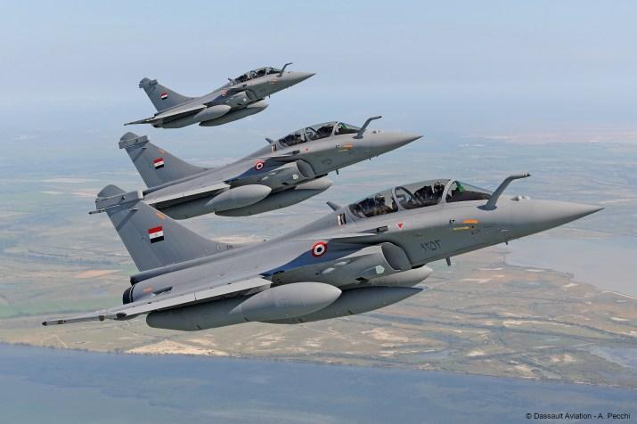 El francés Dassault se regocija por el Rafale en Egipto (financiado por bancos franceses)