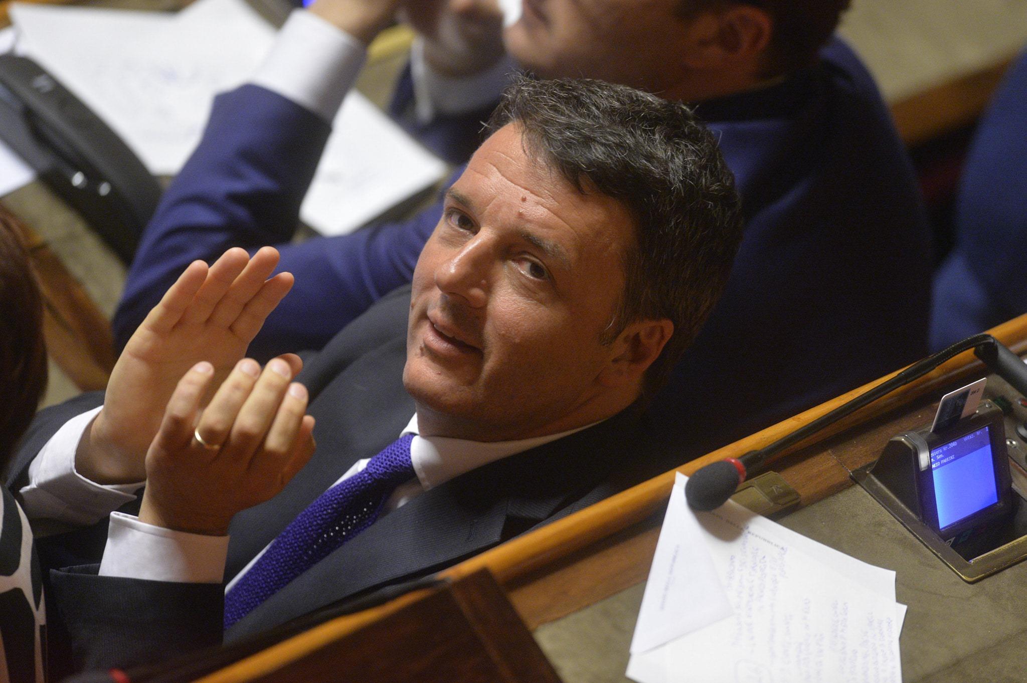 誰感謝和詛咒Renzi為Draghi