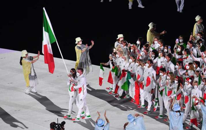 Médailles d'or olympiques et fierté italienne (pas seulement le sport)
