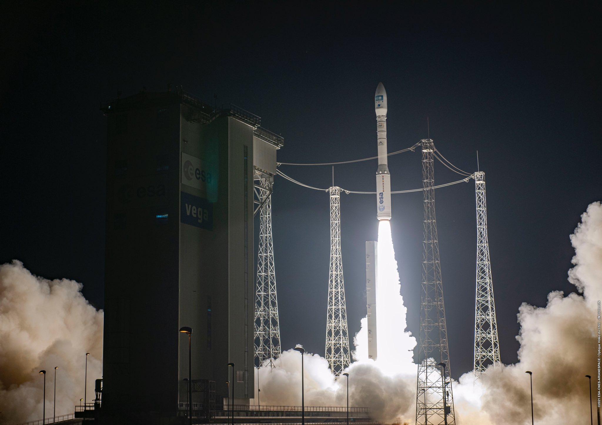 太空,歐洲和中國的所有發射