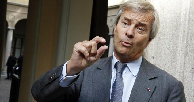 What is said in France about the agreement between Mediaset and Vivendi of Bolloré