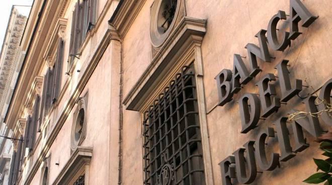 Banca Fucino,進入並意外離開