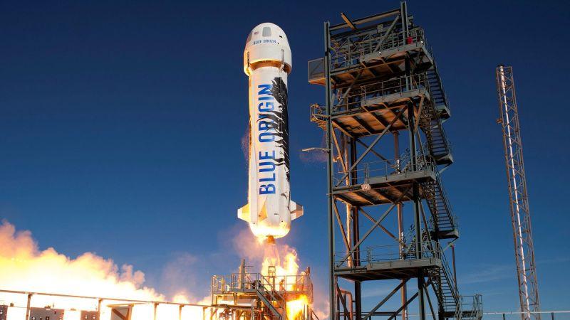 Космос, потому что Безос с Blue Origin подает в суд на НАСА