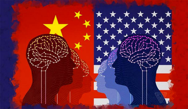 Who in America rings the alarm on artificial intelligence against China