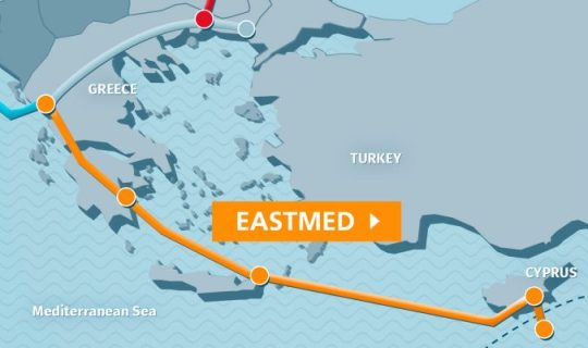 Because the EastMed pipeline is on a dead track. Report