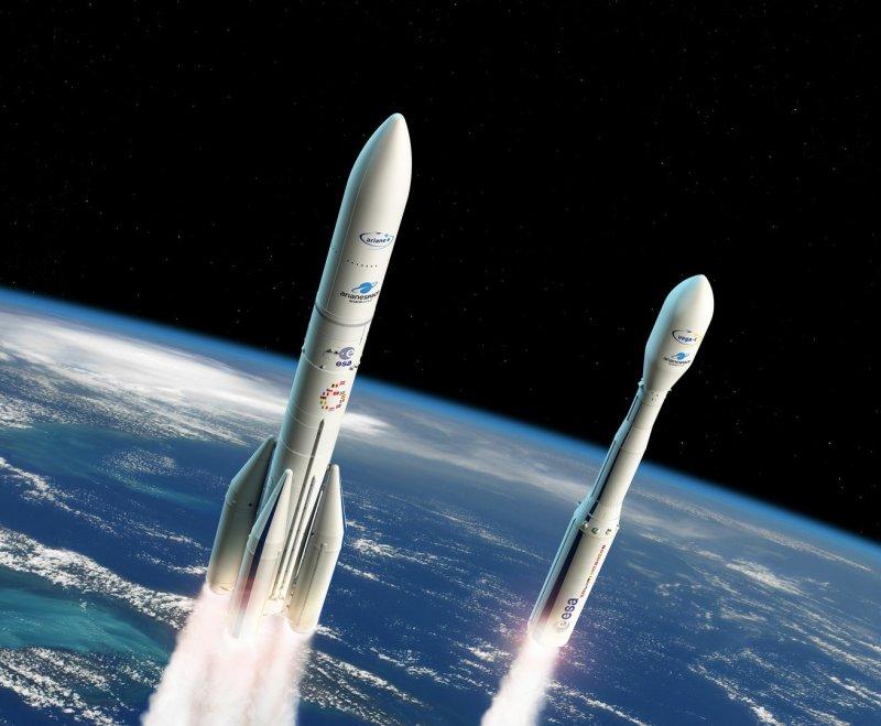 Европейские пусковые установки, то, что члены ESA решили для Ariane 6 и Vega C.