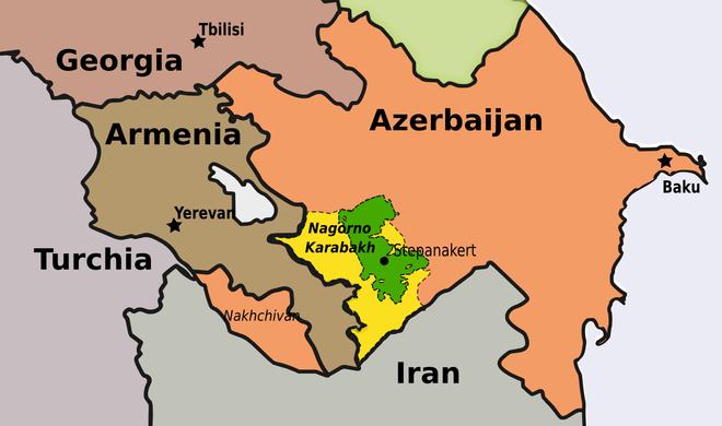 納戈爾諾-卡拉巴赫(Nagorno-Karabakh),天然氣和石油面臨的威脅