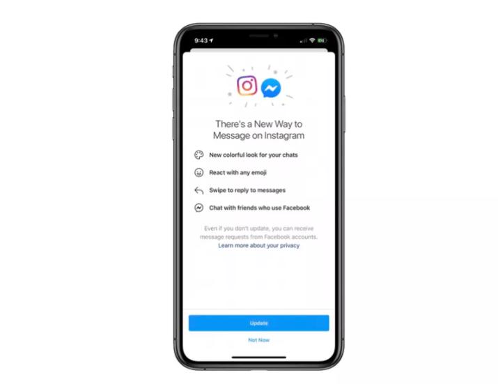 Messager Instagram